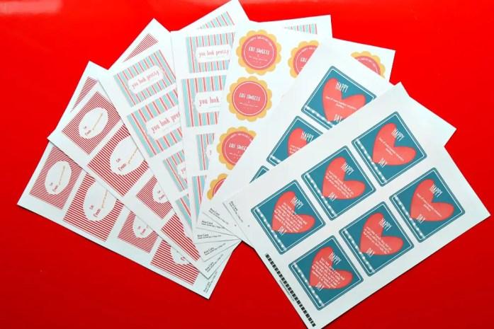 Valentine's Day Stickers 3--020617