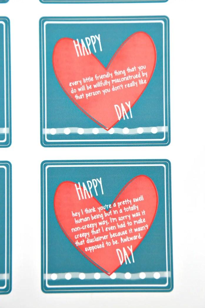Valentine's Day Stickers 5--020617