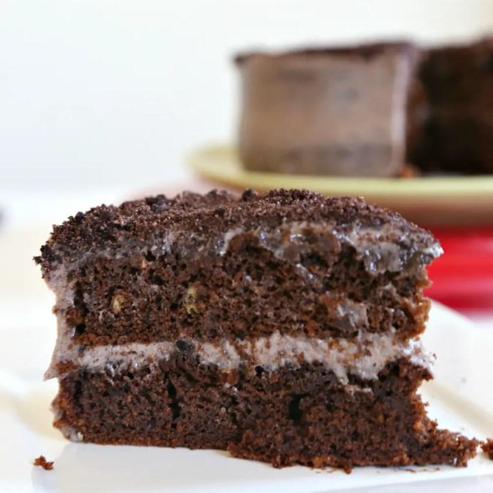 The BEST Chocolate Oreo Cake
