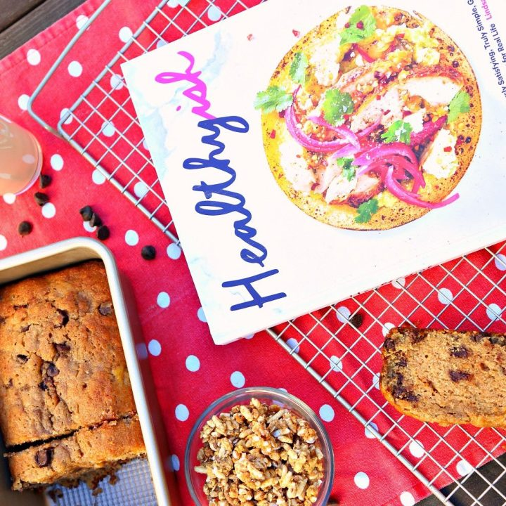 Extra-Easy Whole Wheat Banana Bread with Chocolate Chips
