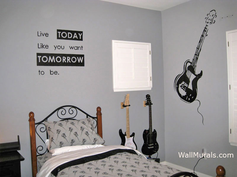 Wall Murals For Teens Amp Tweens Examples Of Wall Murals For Teenagers