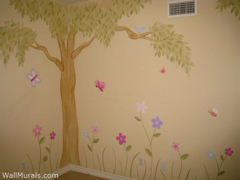 Girls Room Wall Murals Wall Murals For Girls Wall