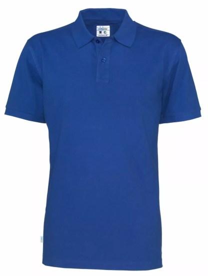 Cottover - 141006 - Pique man - Royal blue (767)