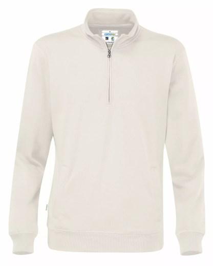 Cottover - 141012 - Half zip unisex - Off-White (105)