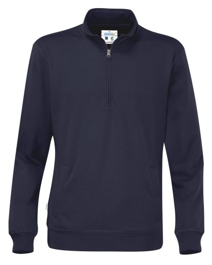 Cottover - 141012 - Half zip unisex - Marineblå (855)