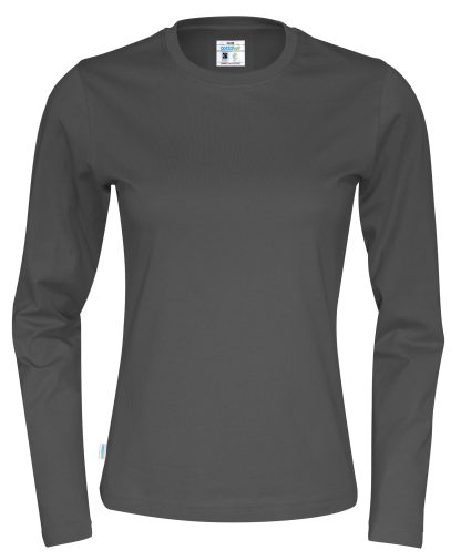 Cottover - 141019 - T-Shirt LS Lady - Grå (980)