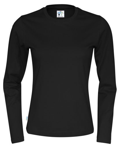 Cottover - 141019 - T-Shirt LS Lady - Sort (990)