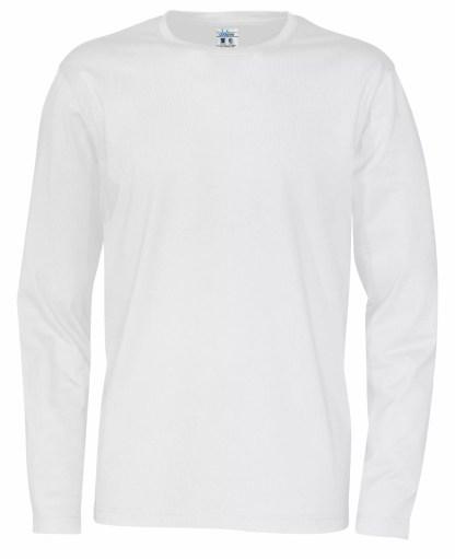 Cottover - 141020 - T-Shirt LS Man - Hvit (100)