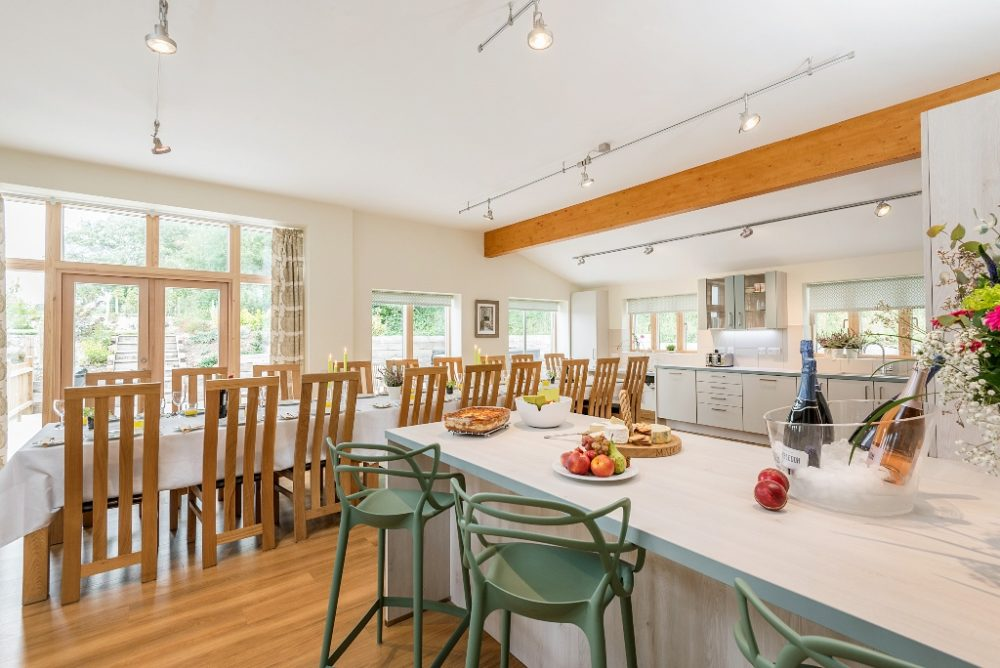 Wallops Wood is perfect for entertaining with a large bar