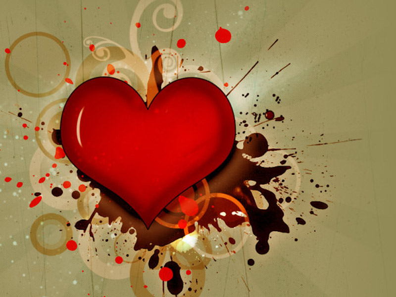 Emo Broken Heart Wallpaper Free HD Backgrounds Images Pictures