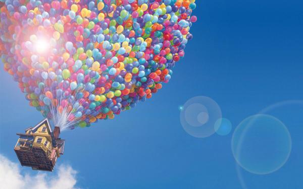 Up Disney House Balloons Light HD wallpaper | movies and ...