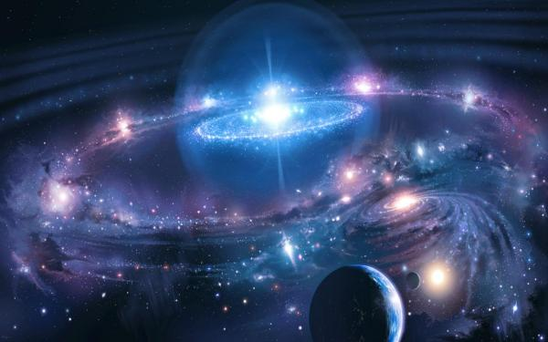 Outer Space Stars Galaxies Planets Background Images ...