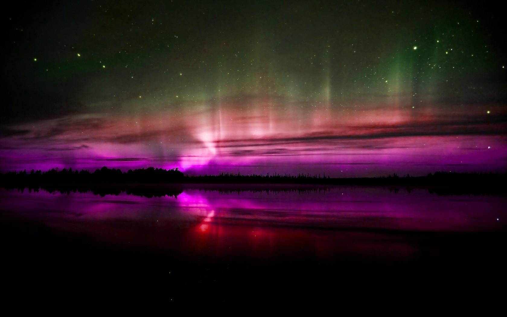 T Mobile Northern Lights