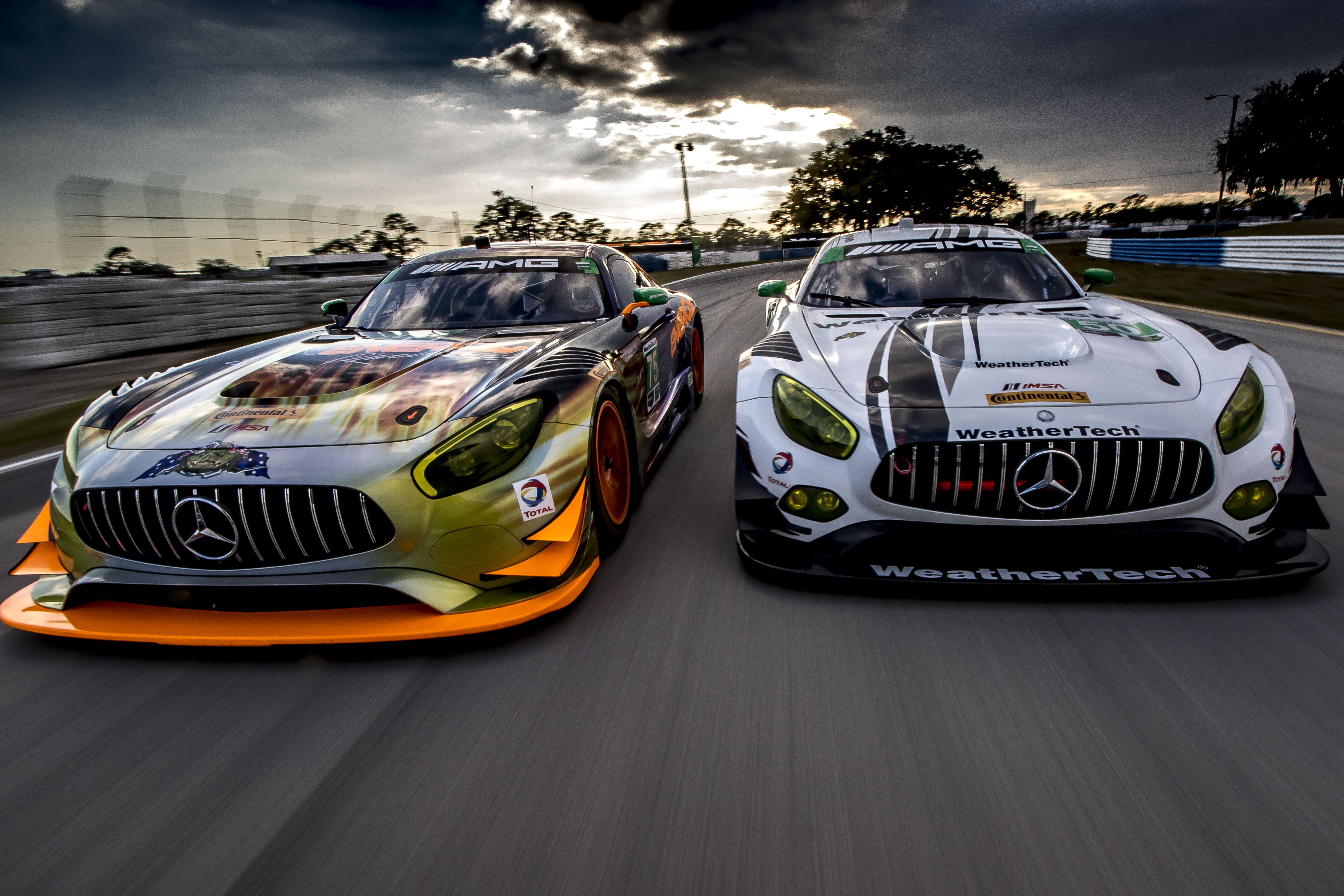 Check out these cars from video games. Two Mercedes Benz Racing Cars Game Poster Hd Wallpaper Wallpaper Flare