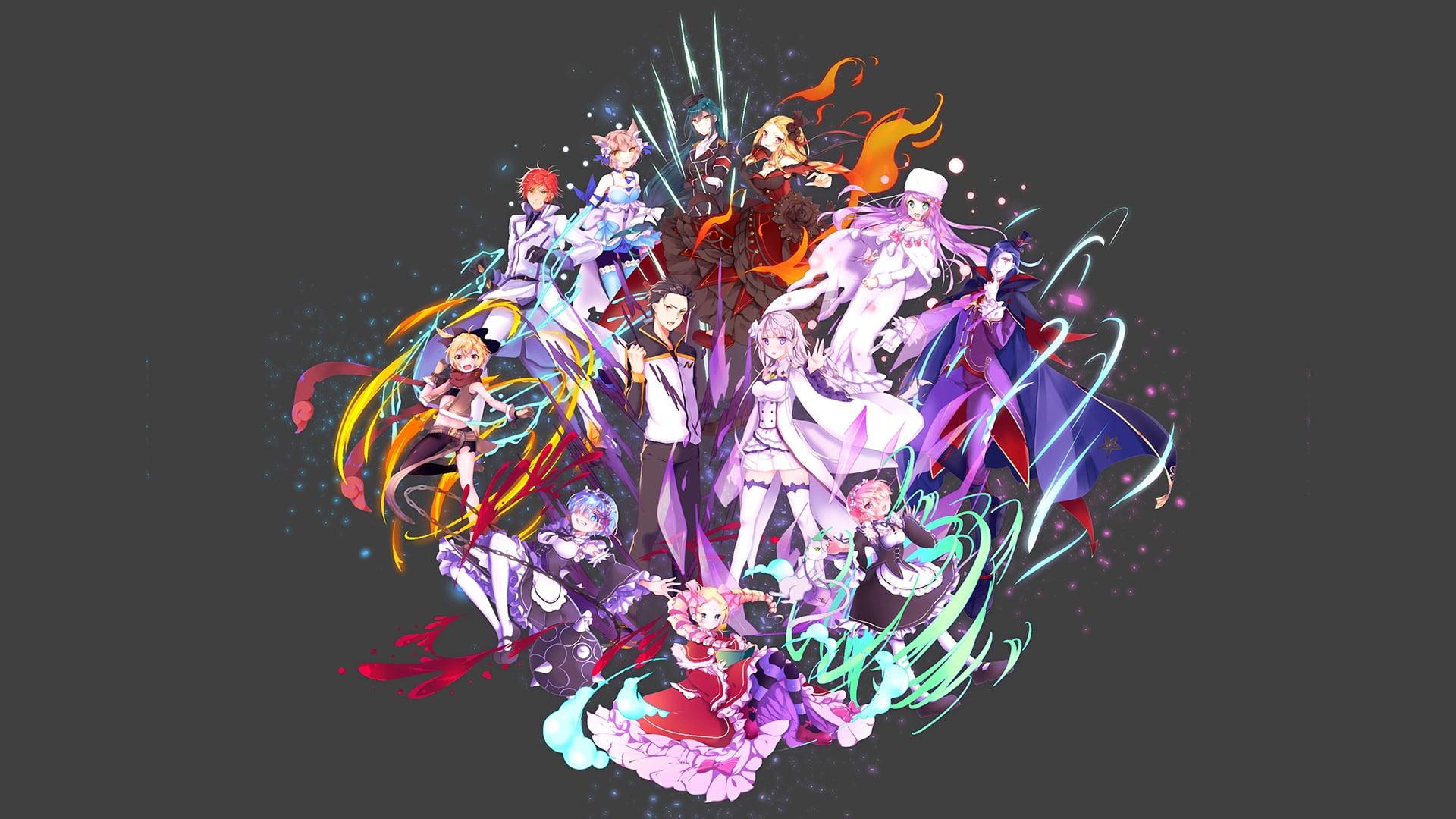 zero anime poster anime re zero kara