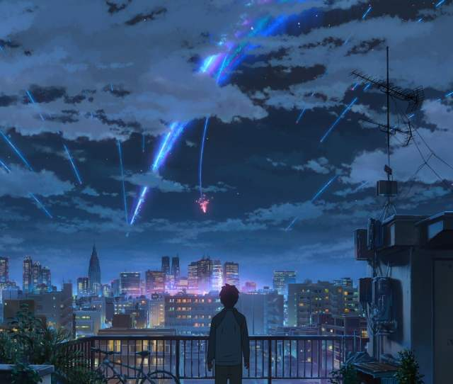Your Name Animated Movie Hd Wallpaper