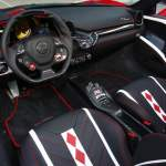 Black And Red Vehicle Ferrari 458 Supercars Car Interior Hd Wallpaper Wallpaper Flare