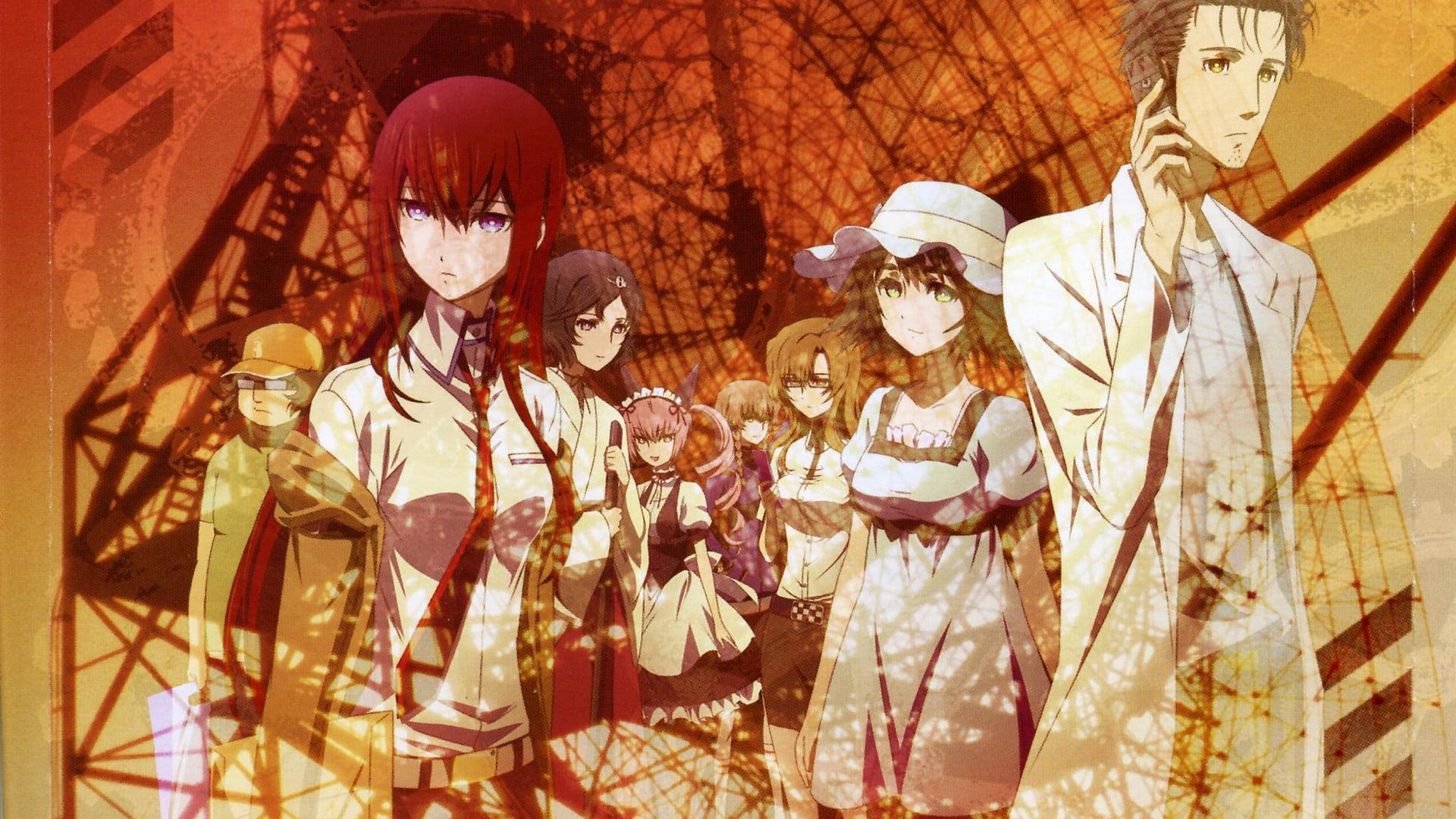 anime movie poster steins gate anime