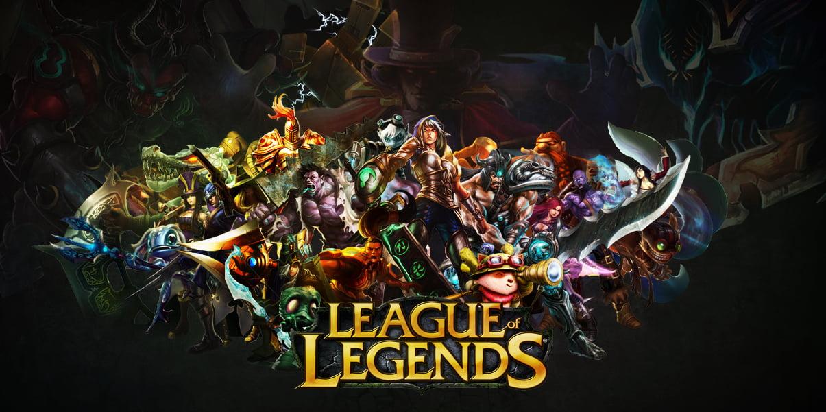 league of legends poster hd wallpaper