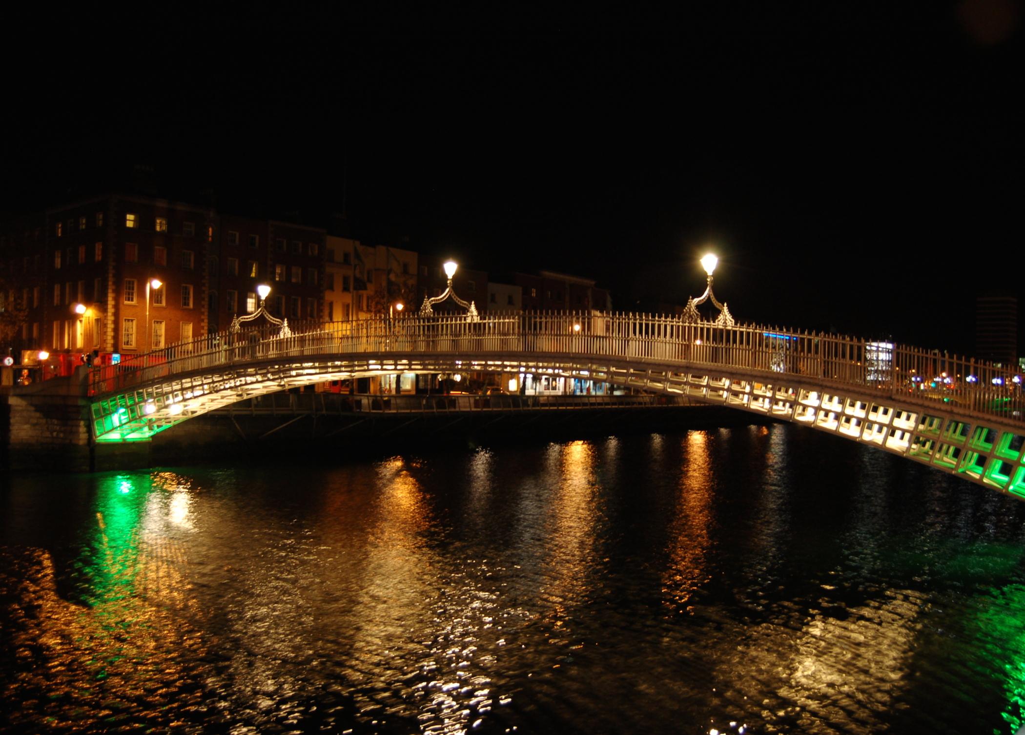 Hapenny Bridge Dublin Ireland Wallpaper Free HD Downloads