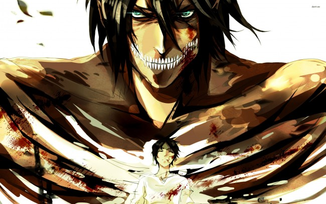 Tons of awesome attack on titan iphone wallpapers to download for free. Wallpaper Eren Jaeger, Titan, Attack On Titan, Shingeki No ...