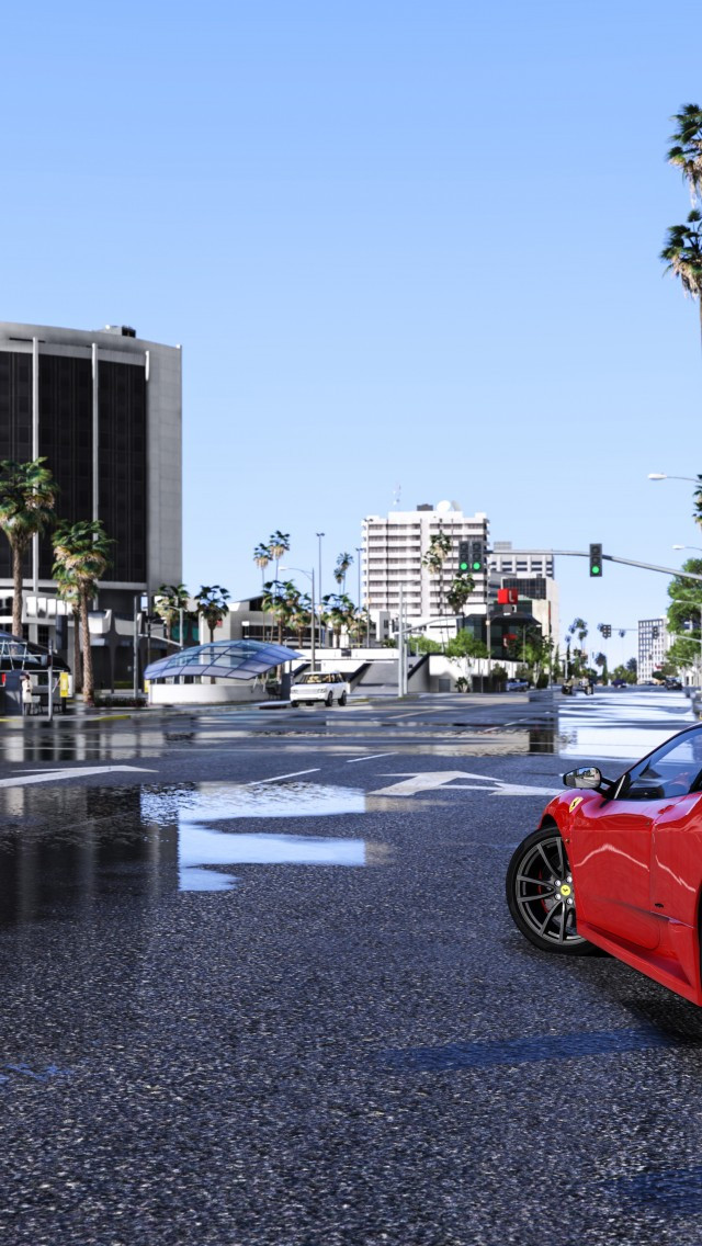 Download and view grand theft auto v wallpapers for your desktop or mobile background in hd resolution. Download 640x1136 Grand Theft Auto V City Cars Wallpapers For Iphone 5 5c 5s Wallpapermaiden
