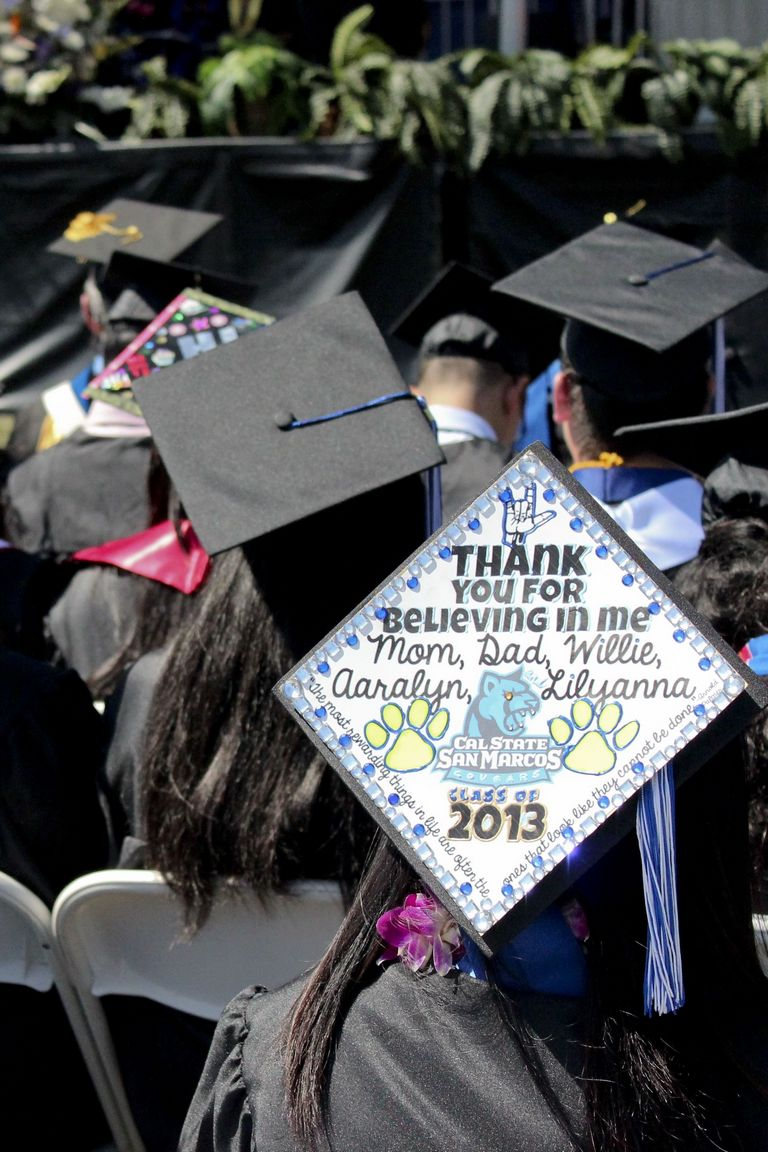 Cap And Gown Decoration Ideas