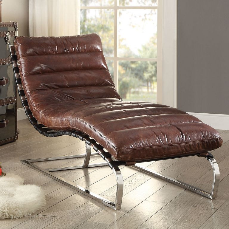 Chaise Lounge Leather