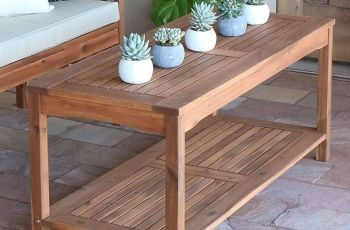 Coffee Table With Side Tables
