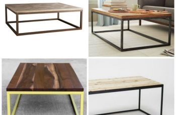 Modern Metal Coffee Table