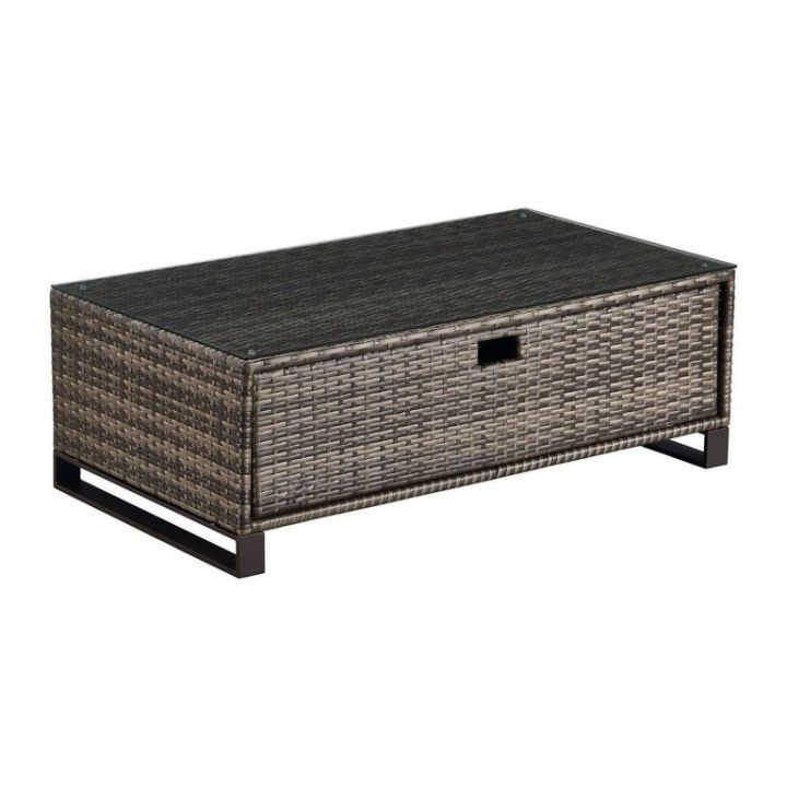 Outdoor Coffee Table With Storage