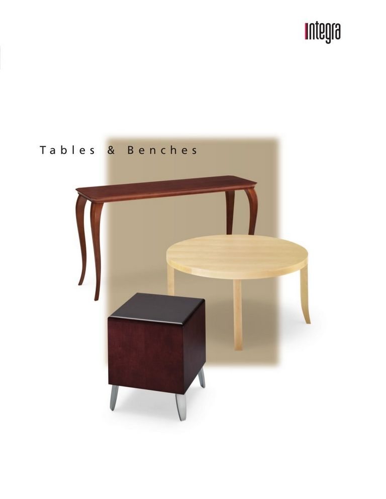 Technical Benches
