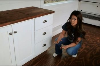 Tiny House Kitchen Cabinets