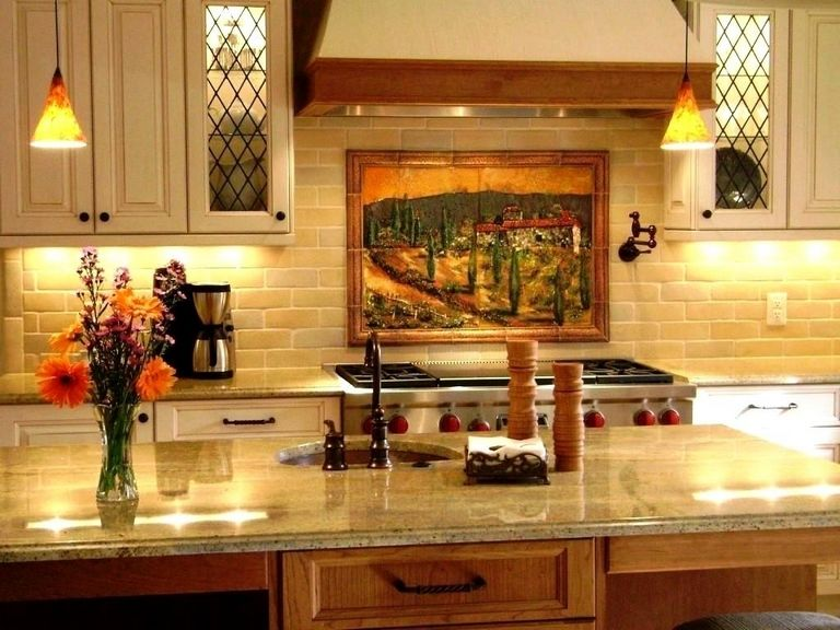 Tuscan Kitchen Wall Decor