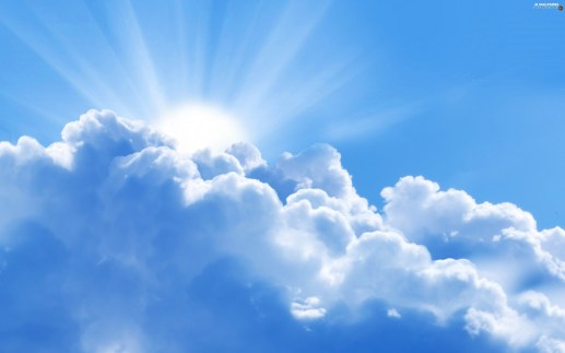 Image result for sky sunrays