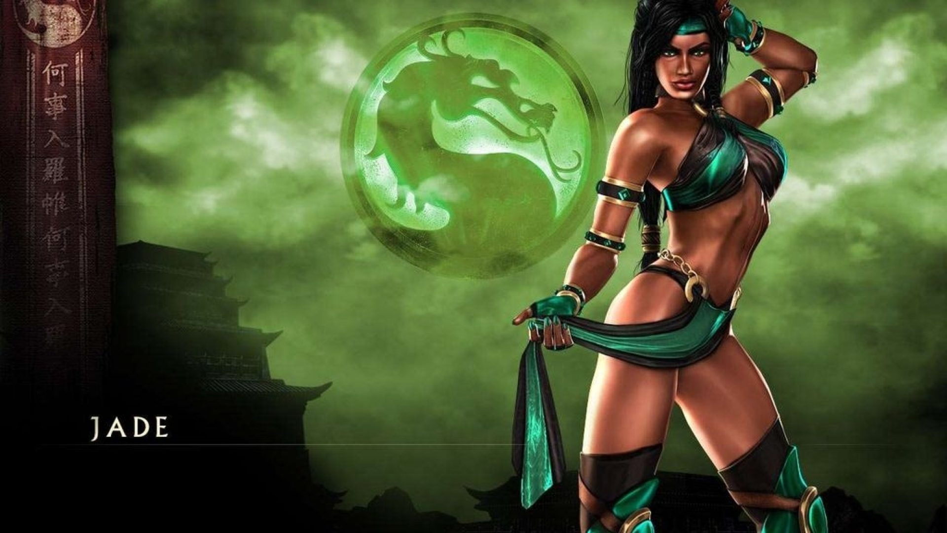 Video Games Mortal Kombat Jade Mortal Kombat Mortal Kombat