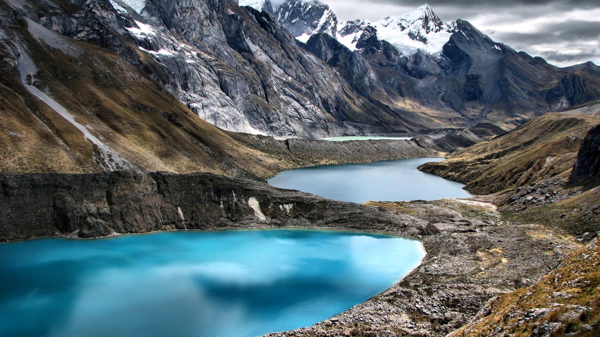 Peru Mountains Lake Cordillera Huayhuash Nature 409980