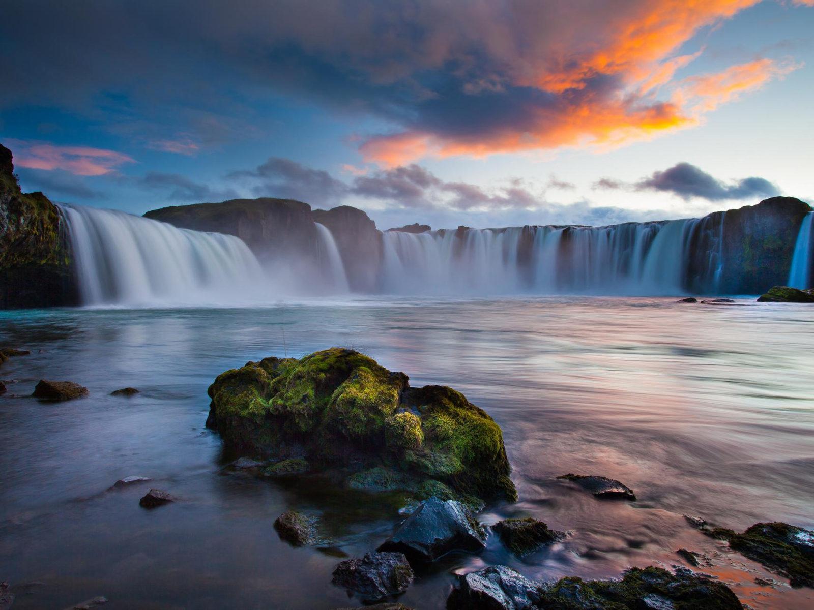 Beautiful Landscape Wallpaper Hd Resolution Waterfalls In