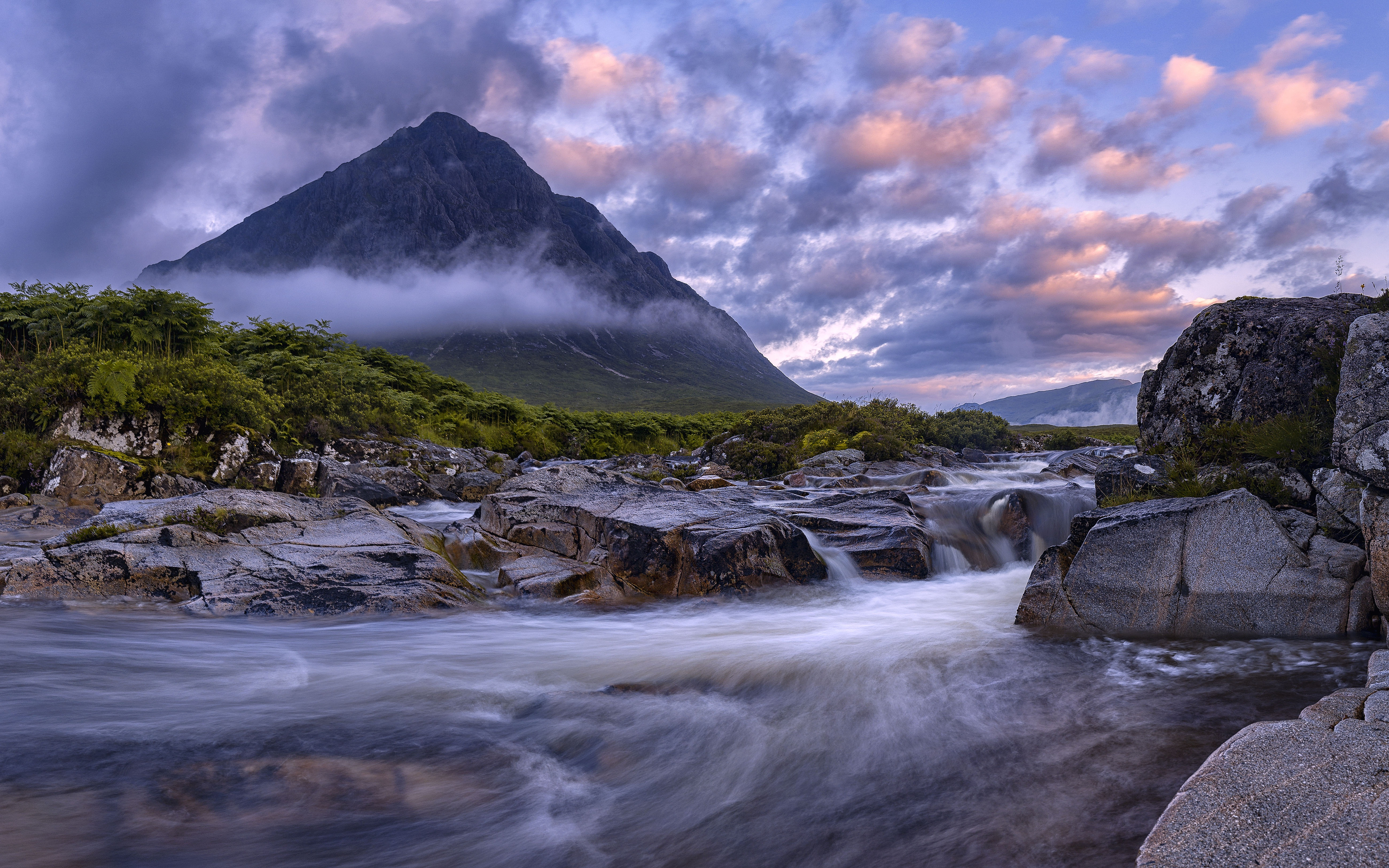 Buachaille Etive Mor Glencoe Scotland View From The River