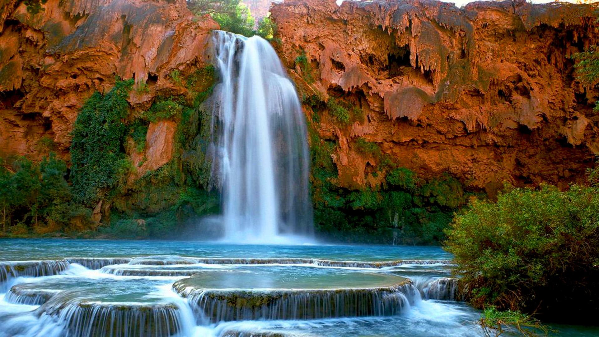 With gerhard steyn, marisa drummond, hykie berg, johan scholtz. Havasu Falls Havasupai Arizona U S Desktop Hd Wallpaper