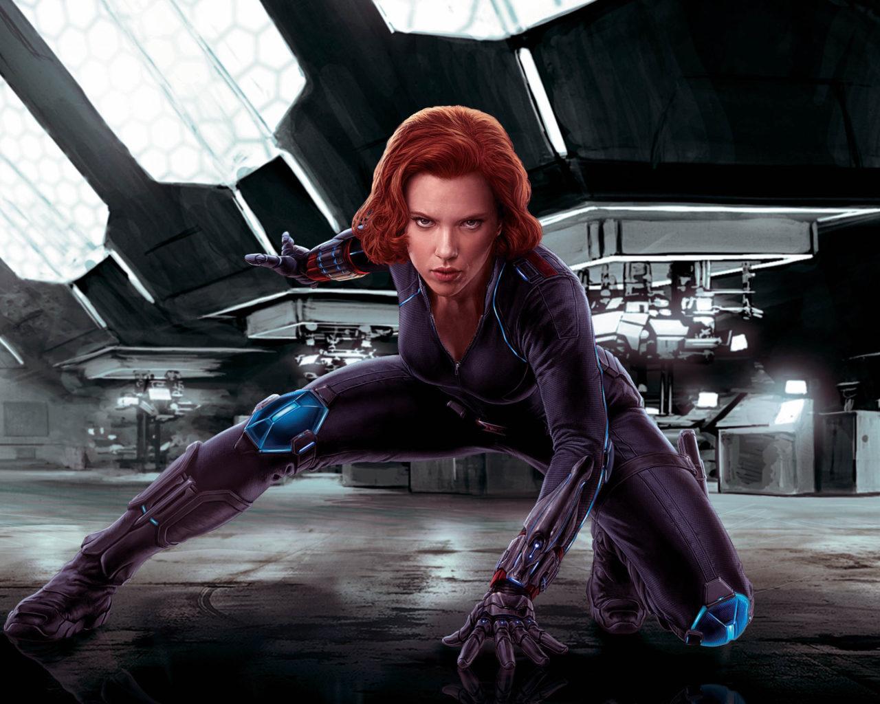 Scarlett Johansson Black Widow Ass - IgFAP