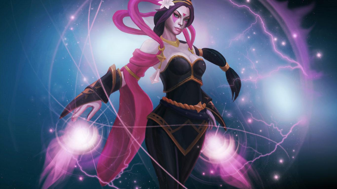 Templar Assassin Magic Girl Roles Carry Escape Dota 2 Hero