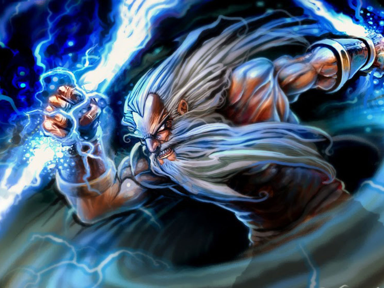 Video Games Dota 2 Caracters Zeus Greek God Myths Desktop