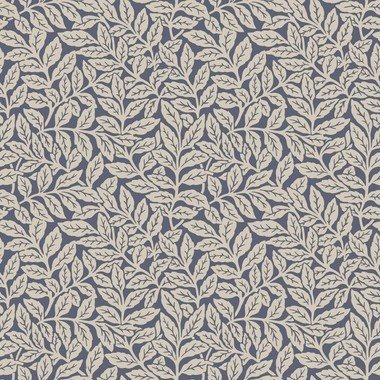 M1182 Crown Ash Branch Floral Dark Blue Wallpaper