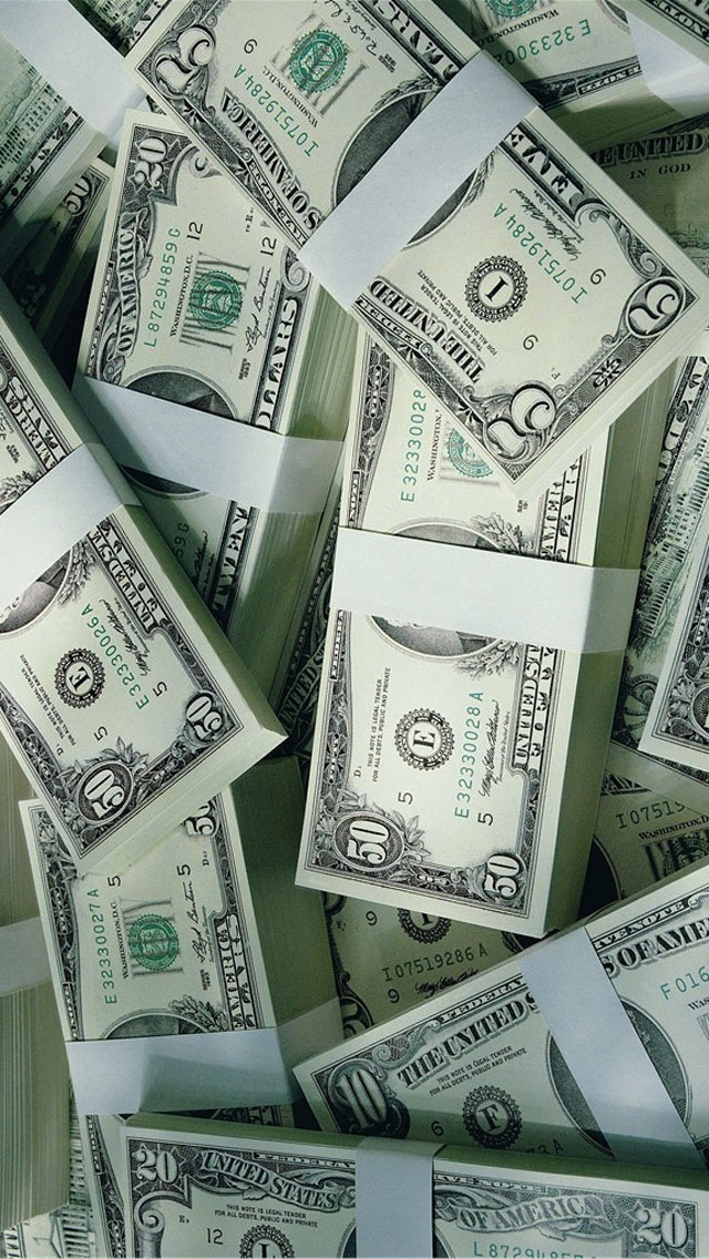 iPhone 5 Wallpapers   Money and Gold Wallpaper Image