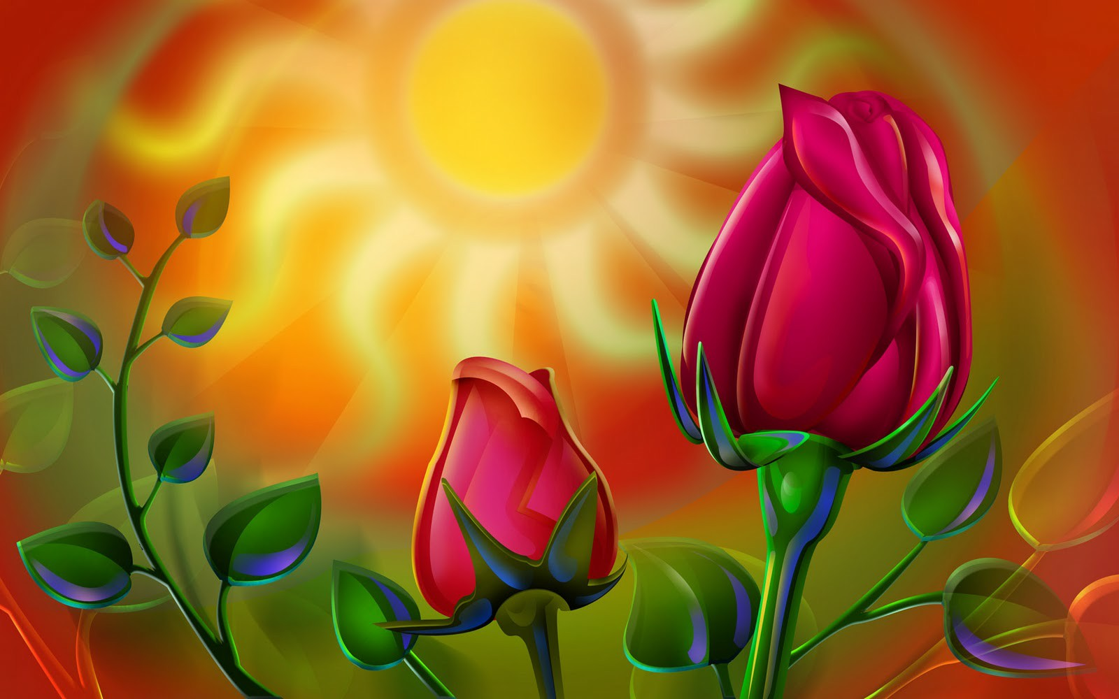 Download Rose Flowers Wallpapers Free Gallery