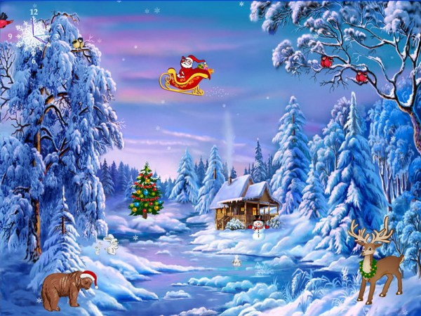 Download Free Christmas Screensavers And Wallpapers Gallery