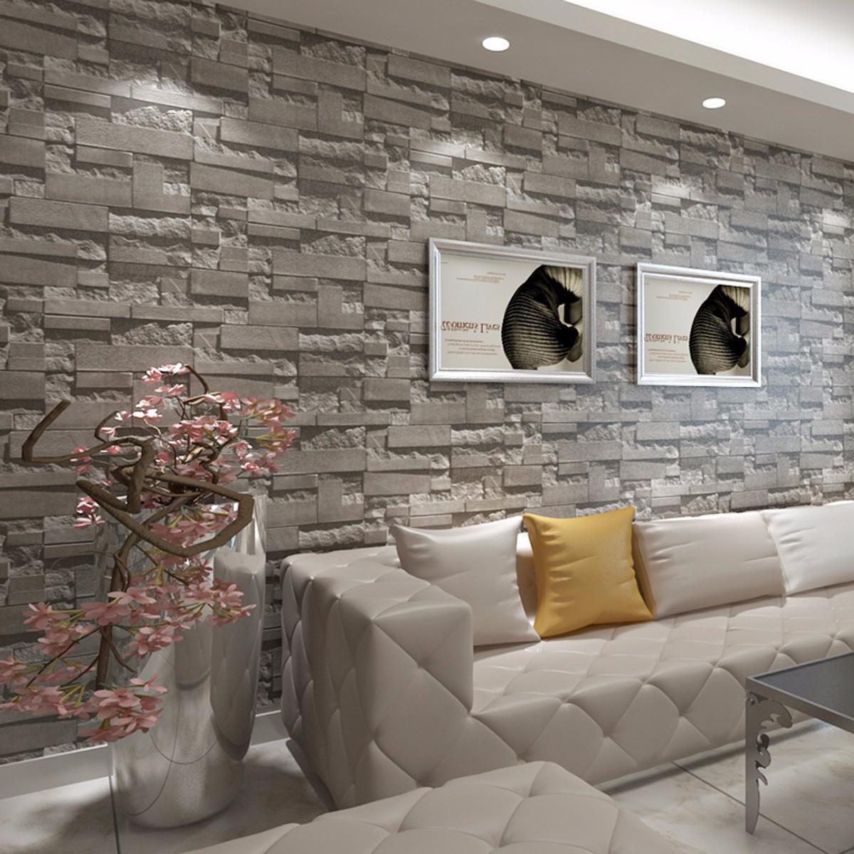 Rinnoviamo le pareti della tua casa o azienda con qualità e stile. Carta Da Parati In Mattoni Per Soggiorno Carta Da Parati 3d Per Parete 1200x1200 Wallpapertip