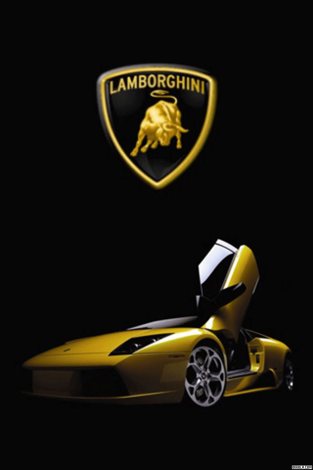 Cars have changed a lot over the years, but one thing about them remains the same — people love iconic makes and models. Hd Car Wallpapers Is The No 1 Source Of Car Wallpapers Lamborghini Logo With Car 640x960 Download Hd Wallpaper Wallpapertip