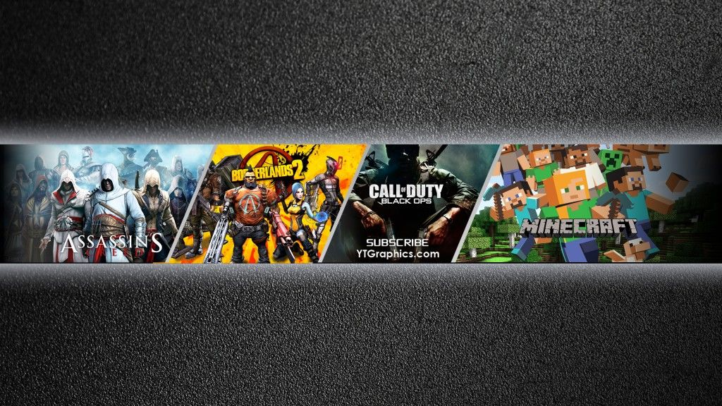 The graphic river gaming youtube banner template is designed for mainly personal use. Game Banner Para Youtube 1024x576 Download Hd Wallpaper Wallpapertip